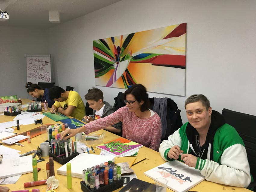 Graffiti-Workshop